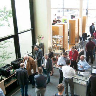 Besucher der 1. Mittelhessischen 3D Druck Tagung 2018