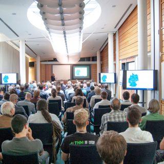 Tagungsraum der 1. Mittelhessischen 3D Druck Tagung 2018
