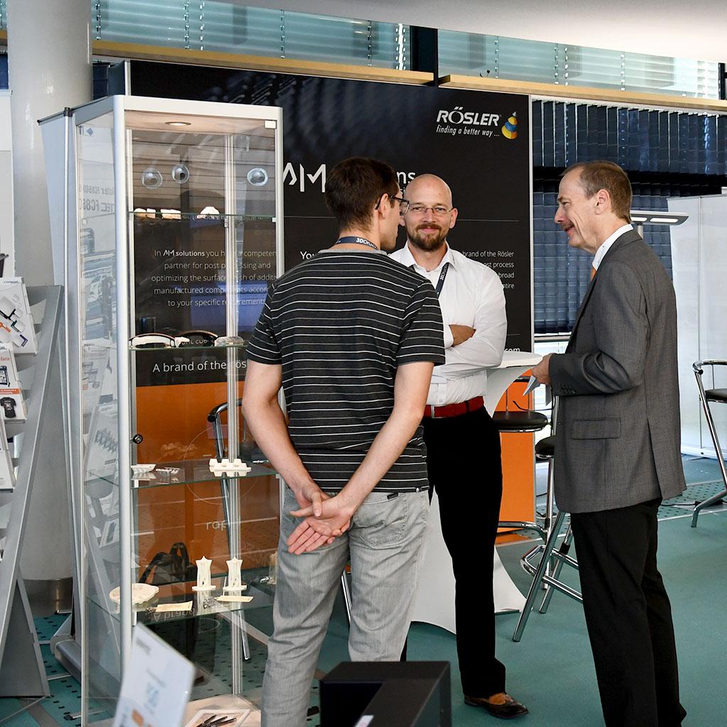 Ausstellung Rösler Oberflächentechnik GmbH