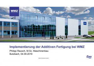Präsentation WMZ Philipp Rausch additiva 2019