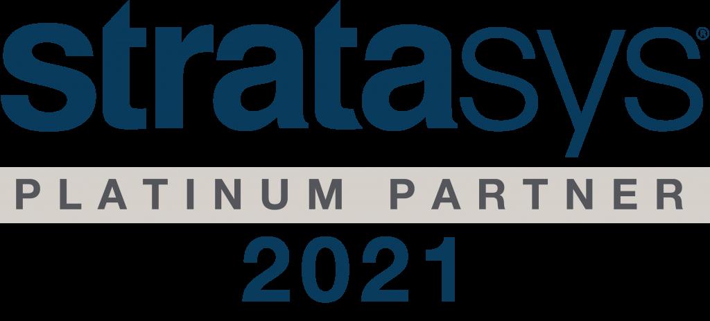 Wir sind Stratasys Platinum Partner 2021